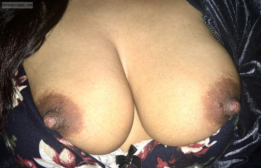 My big Latina nipples