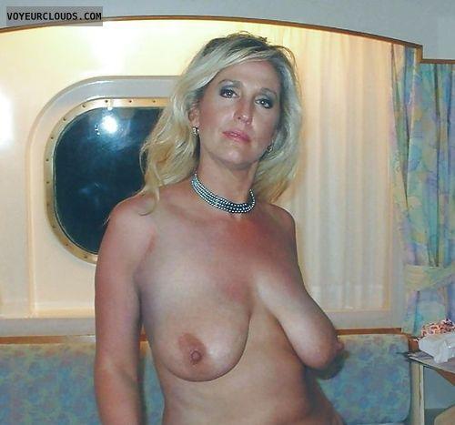 large tits, big tits, tits, nipples, wife, milf, naked wife