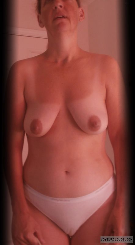 Mature, Slut, Dark Nipples, Whore, Camel toe