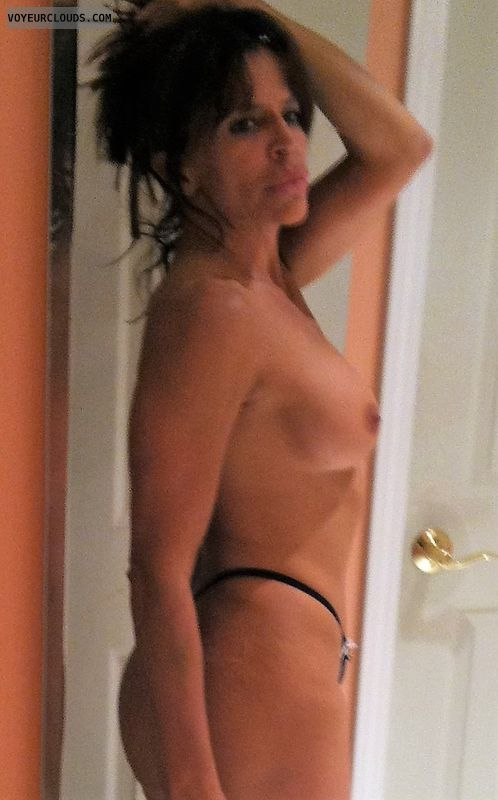 MILF, Topless Wife, Hot Wife, Nice Tits, Naked