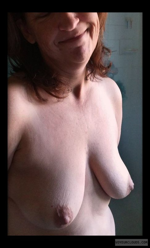 Wife boobs, Mature
