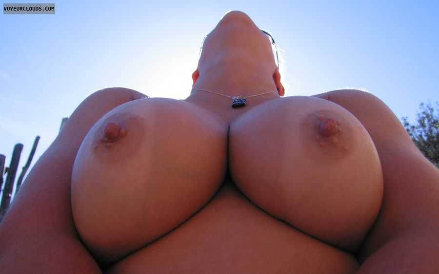 Boobies, Big Tits, Cleavage, Tan Lines, Big Nipples
