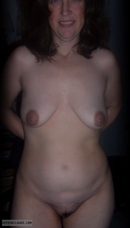 Nude wife, Slut, Hairy pussy, Whore, Bush, Tart, Dark nipples