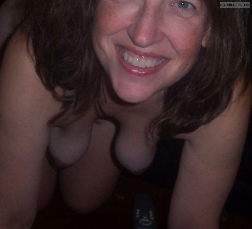 Hanging tits, Tart, Sexy smile, Slut, Small boobs