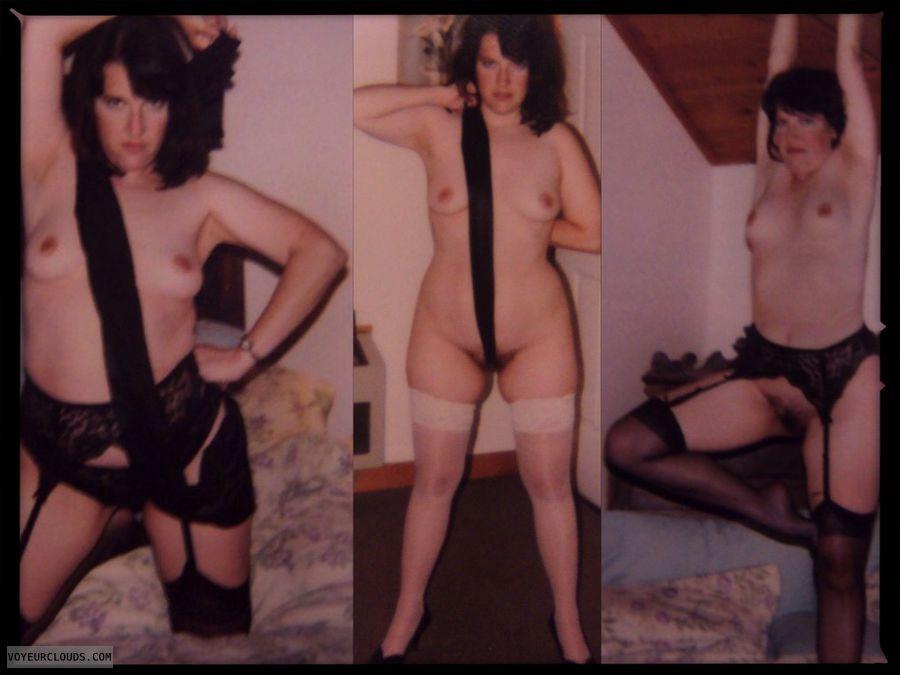 Retro, Tart, Polaroids, Horny, Exhibitionist, Tramp