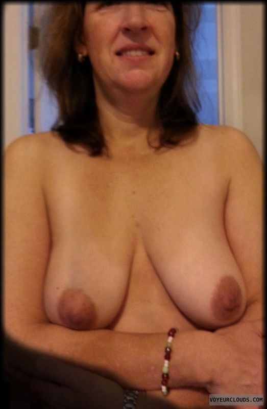Dark nipples, Tart, Little boobs, Tramp, Mature, Saggy tits