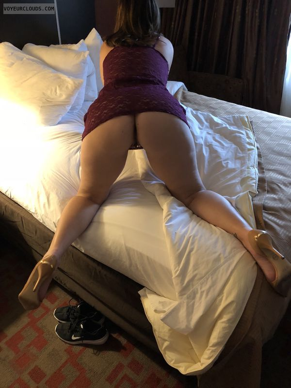 Wide open Wednesday, hotel, CFM heels, milf, PAWG