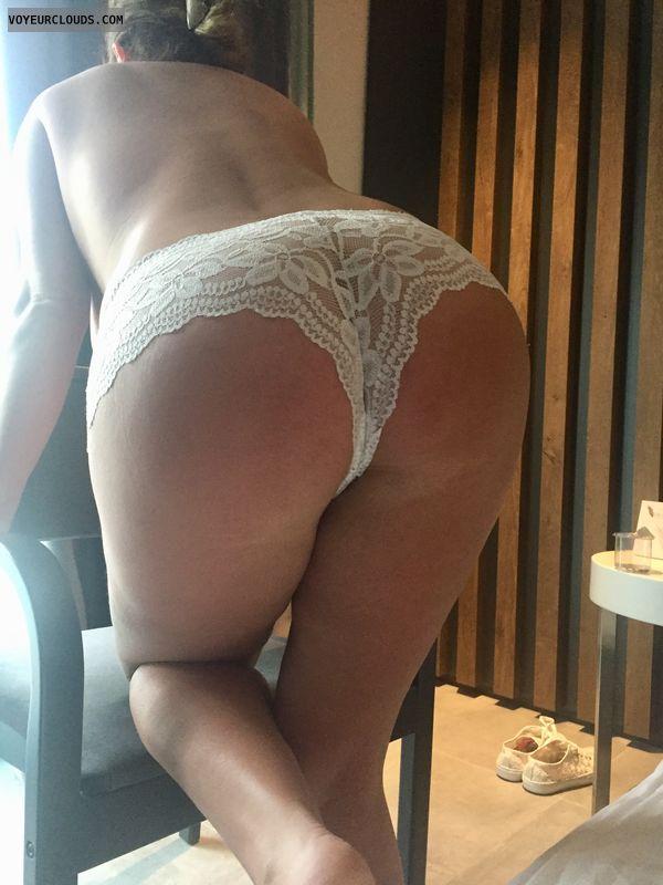 Panty, Ass, Wife, Legs, Sun