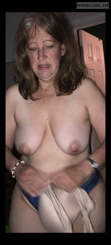 Mature, Little boobs, Tramp, OK, Topless, Saggy tits