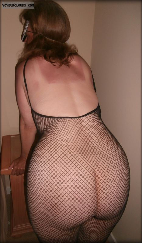 Big Cheeks, Tramp, Large Ass, Fishnet, Wife Ass, OK