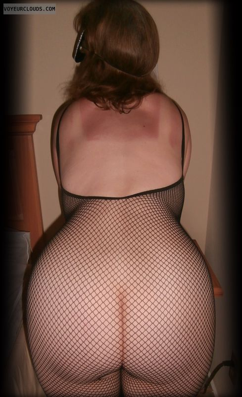 Large Ass, Fishnet, Big Cheeks, Harlot, OK, Strumpet