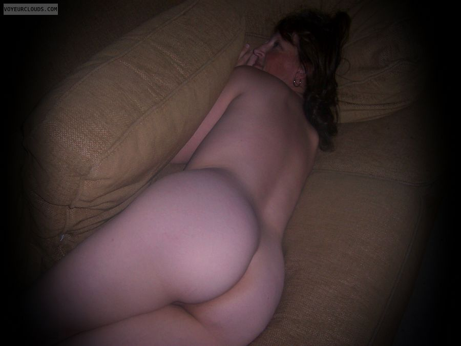 Big cheeks, Tramp, Large Ass, Nude wife, OK