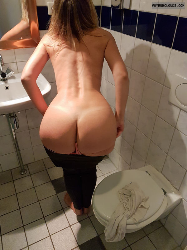 Bending over, Butt, Tanline, Milf, Wife, Wife butt