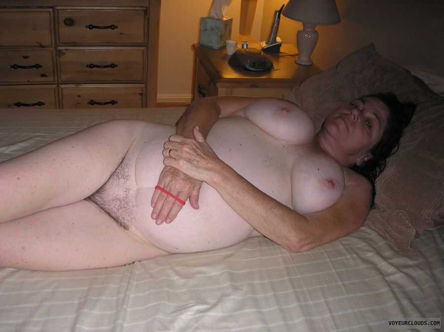 mature, tits, hairy cunt, hairy pussy
