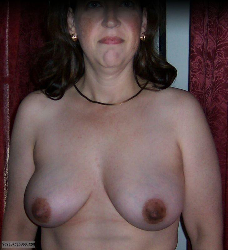 Small boobs, Brown nipples, Naked wife, Big tits, Harlot