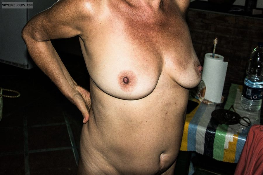 tits, nude wife