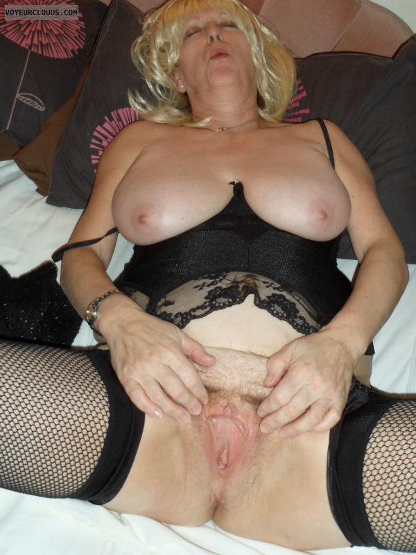 milf pussy, spread pussy, hard nipples, big tits, mature woman