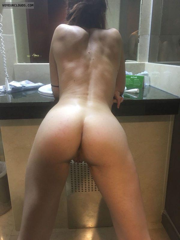 Ass,  Long legs