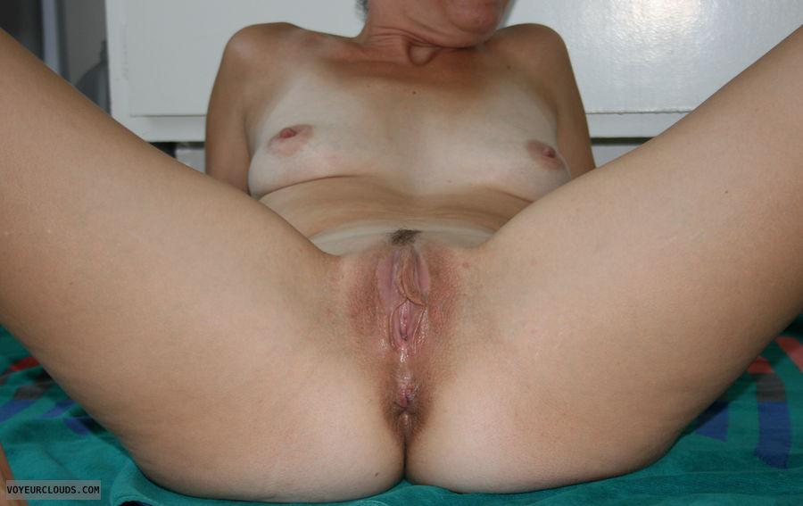 spread, pussy, lips, wife
