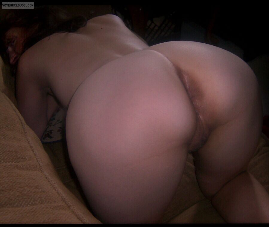 Large Ass, Big Cheeks, Wfi, Doggie, Pussy peek