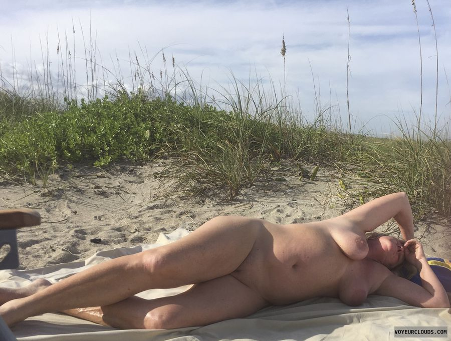 pussy, tits, breasts, nude, beach, legs, naked