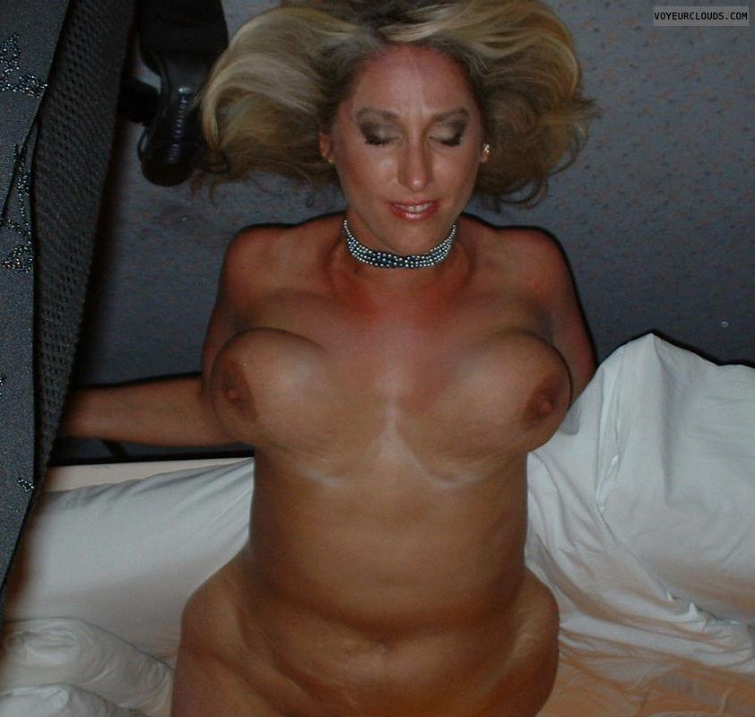 tits, big tits, upside down tits, hangers, hanging tits