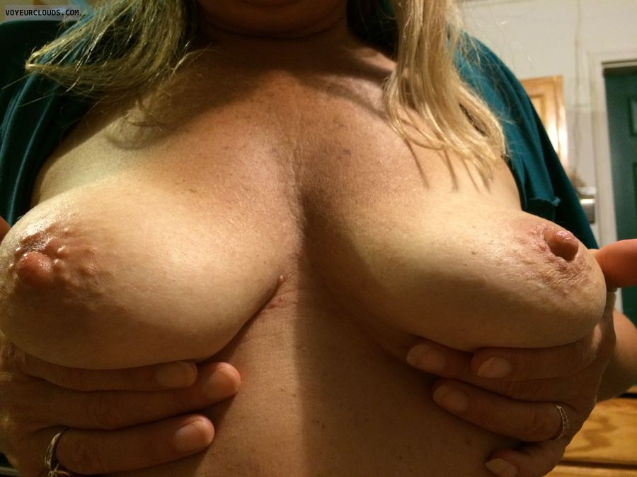 Girlfriends boobs, Tits