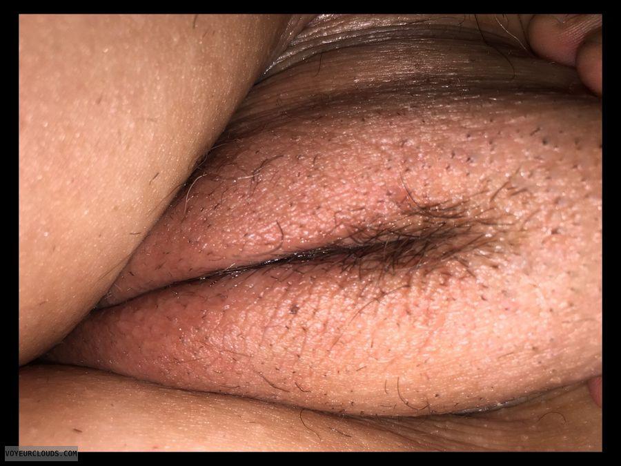 Hairy pussy, Pussy lips, Labia majora, Wife pussy