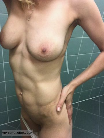 Nurse, sexy wife, naked, girl, wife, Hard nipples