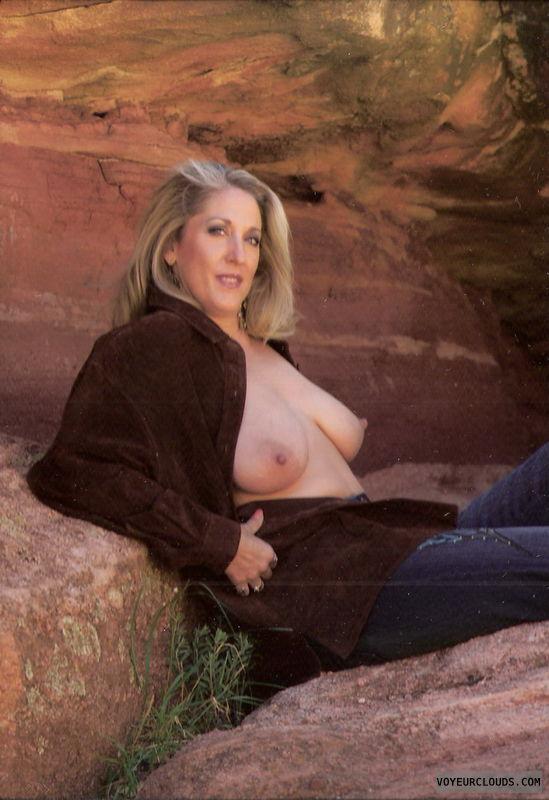 naked in public, nude in public, public nudity, public