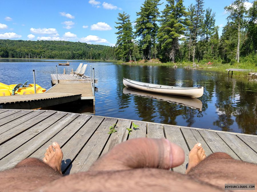 Outdoors, cock