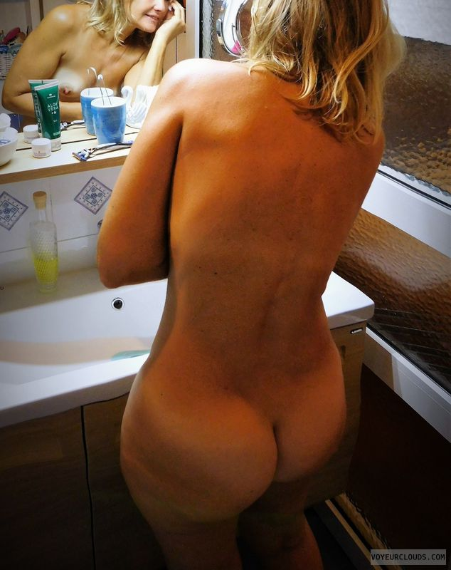 anna, wife, nude, ass, blonde