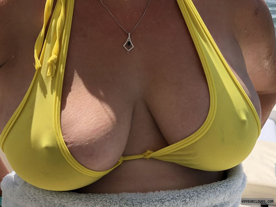breasts, nipples, bikini top, wicked weasel