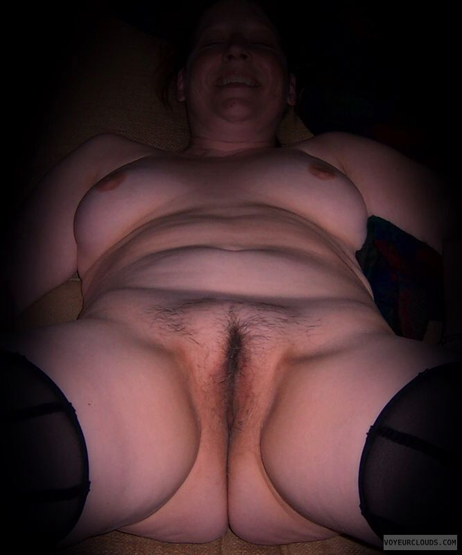 Full frontal, Wife pussy, Little boobs, Nice smile