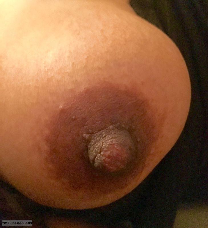 Nipple closeup