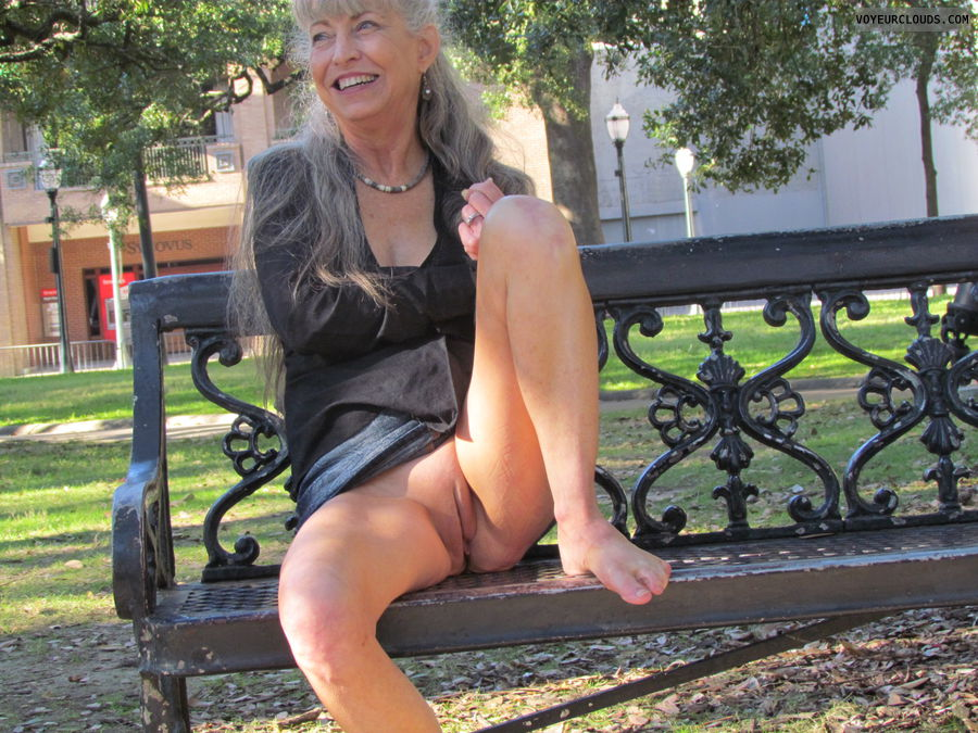 public pussy, men watching, mature wife