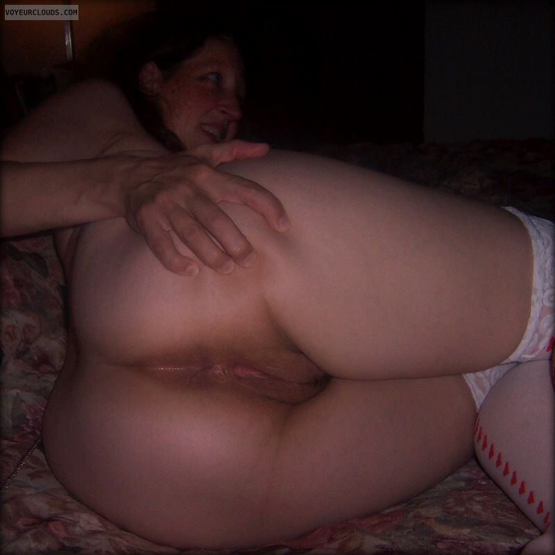Large Ass, BIG cheeks, Big Hips, OK Pussy, Anus, Asshole