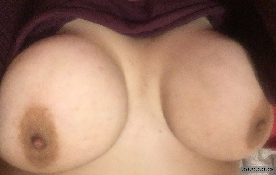 big tits, big boobs, tits out, hard nipples, braless
