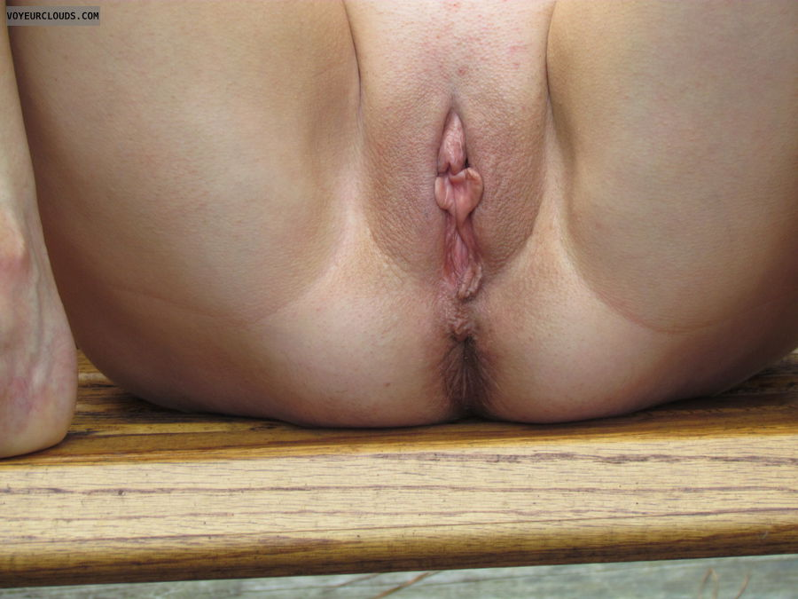 smooth pussy, asshole, wife, T.N.U.C., thighs, round butt