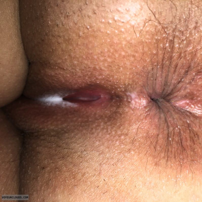 Anus, Asshole, Anal, OK Ass, Shaved pussy, Wife Pussy