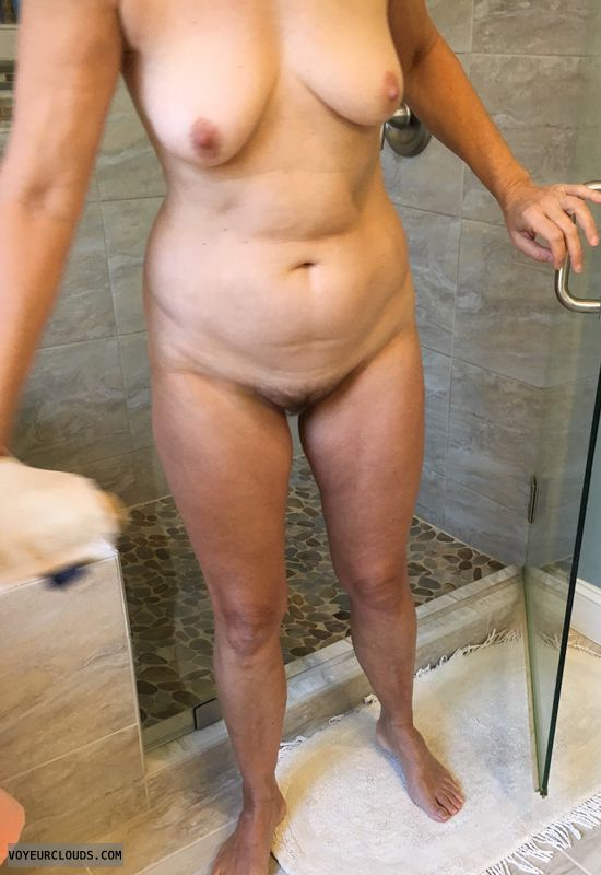 Wife, Milf, Cougar, amateur, nude, Mature, Hairy pussy