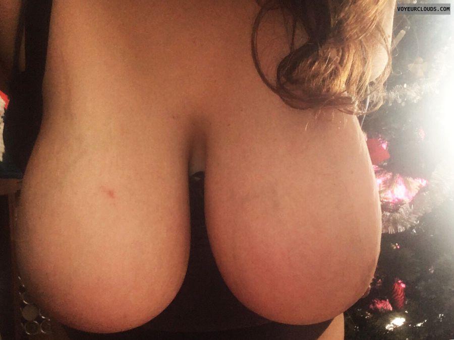 hangers, big tits, big boobs, deep cleavage, long hair
