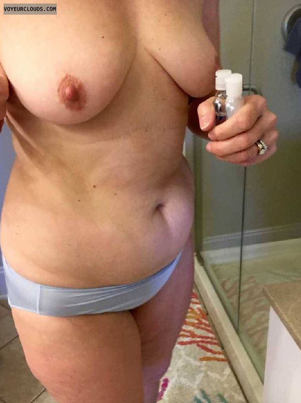 Wife, milf, amateur, mature, cougar, tits, nipples