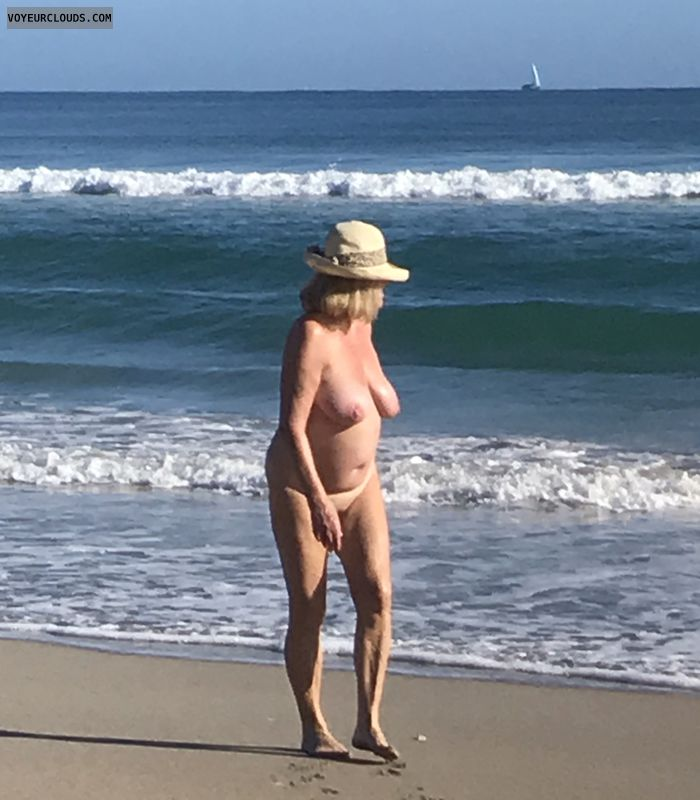 nude, beach, tits, naked, breasts