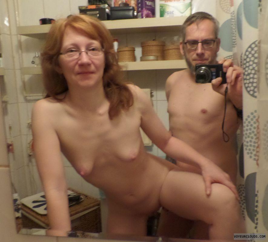 Redhead, Milf, Amateur, Sex, Ginger, Selfie, Mirror