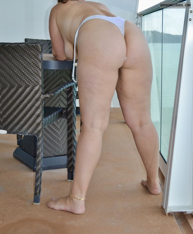 ass, breasts, wicked weasel, cruise ship, balcony