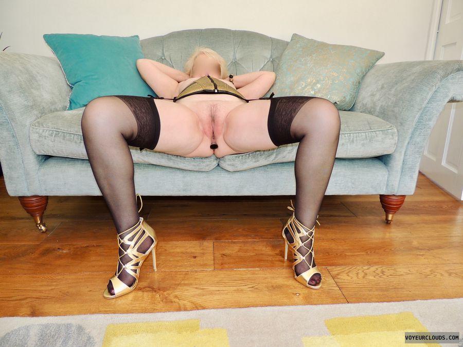 spread legs, open legs, legs apart, pussy, wife pussy