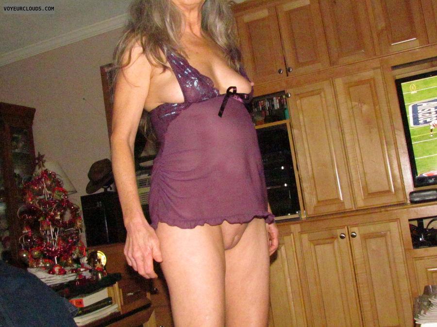 pussy, smooth pussy, nipple slip, nice tits, slutwife