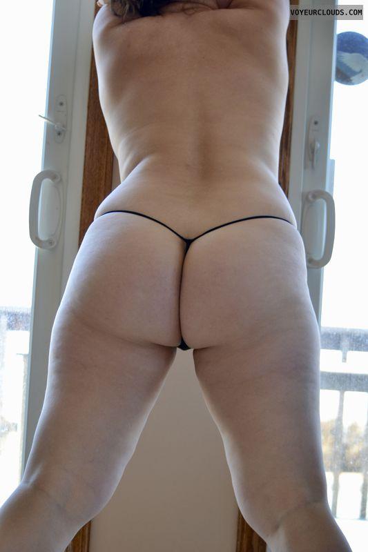 ass, legs, panties, g-string