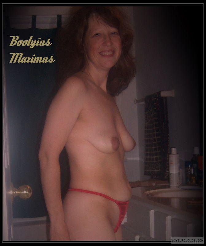 OK Smile, Humiliated, OK Boobs, Harlot, 34B, wife tits